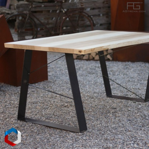 Table live-edge - Avéo - bois massif