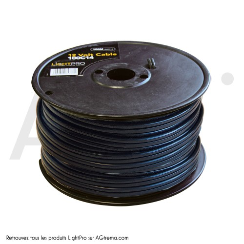 Cable 12V - 100m