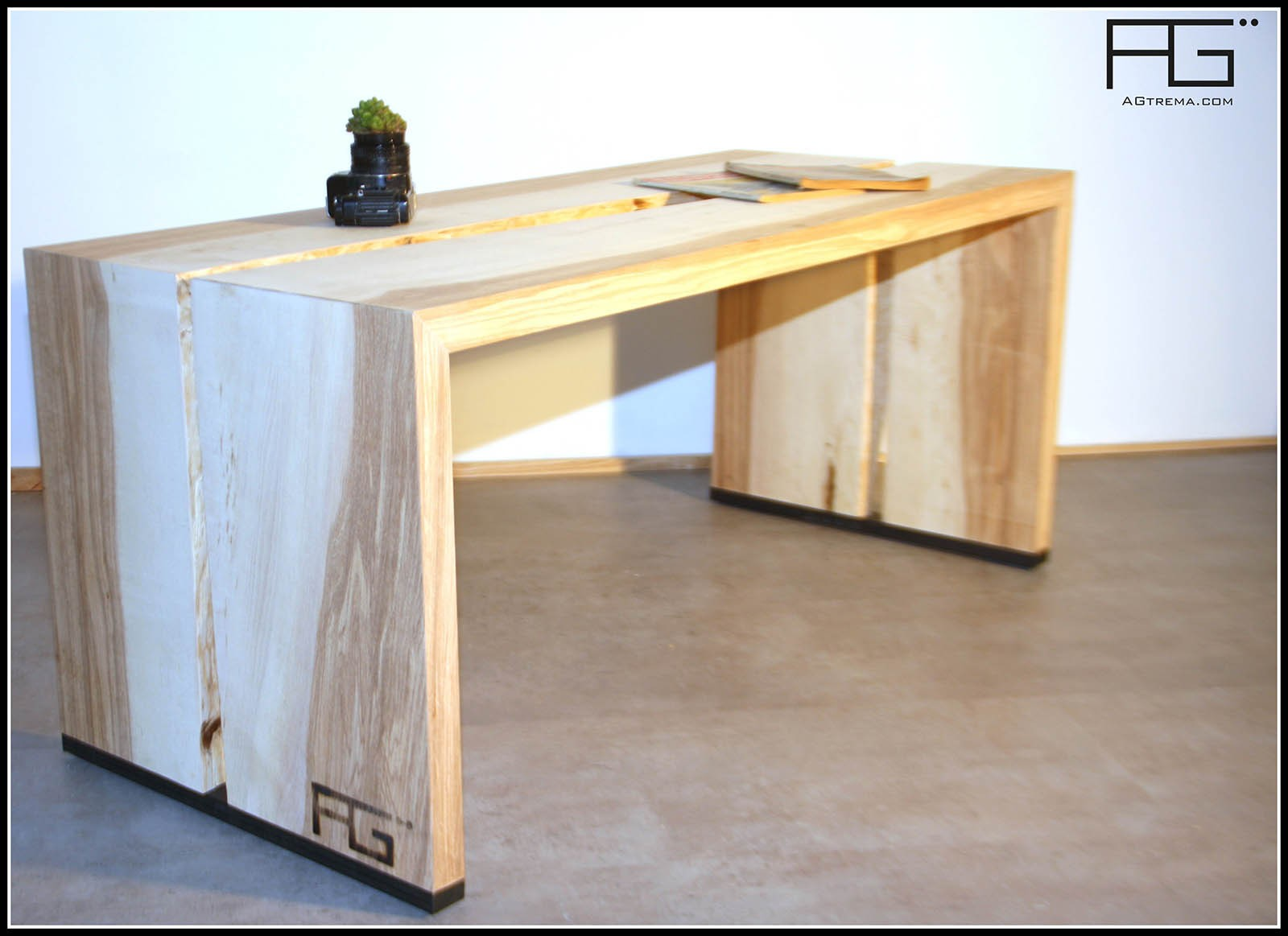 Table bois live edge for Table bois brut